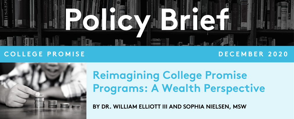Reimagining College Promise Programs: A Wealth Perspective