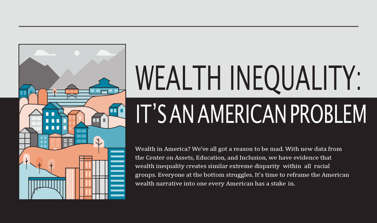Wealth Inequality: It's an American Problem
